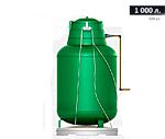 Газгольдер подземный вертикальный 1000 л