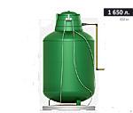 Газгольдер подземный вертикальный 1650 л