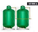 Газгольдер подземный вертикальный 10000 л