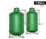 Газгольдер подземный вертикальный 7250 л